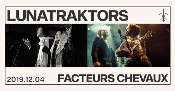 Lunatraktors / Facteurs Chevaux à Quai de Bourbon