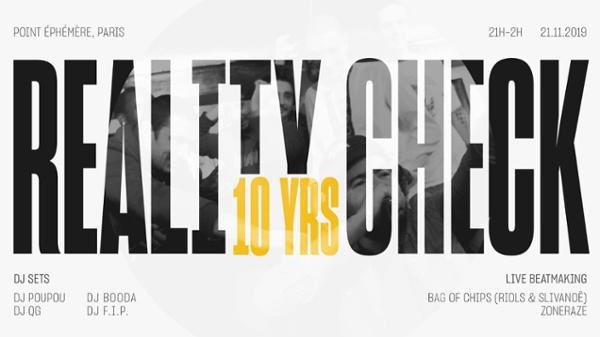 REALITY CHECK 10 YEARS BDAY