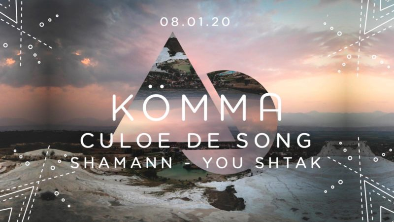 KÖMMA Paris + Culoe De Song, Shamann and You Shtak