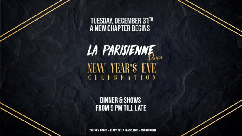 La Parisienne - New Year Eve's Celebration