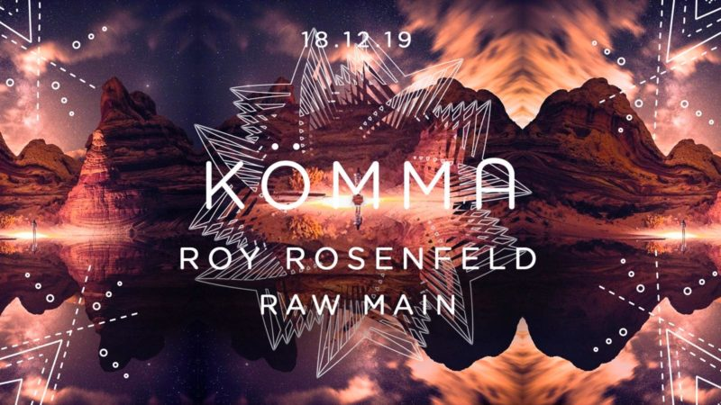 KÖMMA Paris w/ Roy Rosenfeld (All Day I Dream)