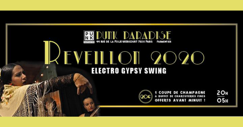 NOUVEL AN 2020 ELECTRO GYPSY SWING