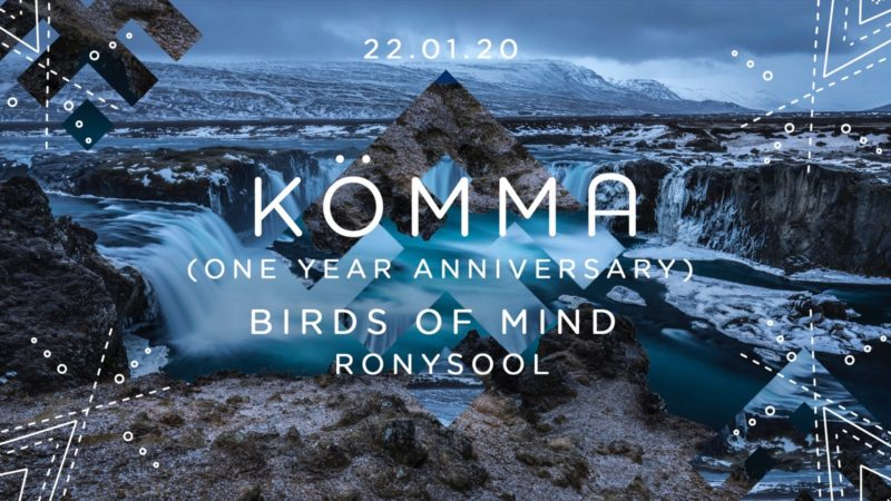 KÖMMA Paris x Birds of Mind x One Year Anniversary x PFW