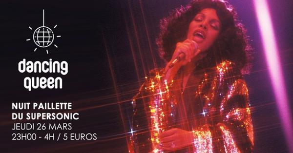 Dancing Queen #14 / Nuit Disco Paillette du Supersonic
