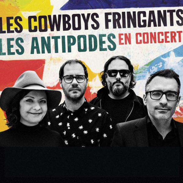 Les Cowboys Fringants - Les Antipodes à l'AccorHotels Arena