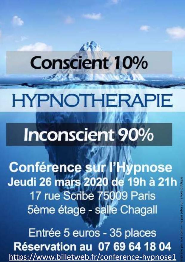 Conférence sur l'Hypnose