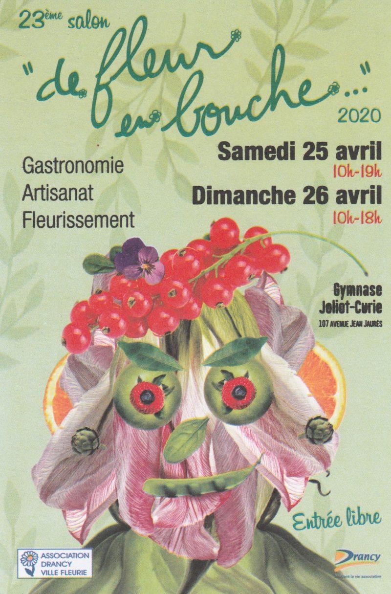 "23e Salon  ""De fleur en bouche ..."""