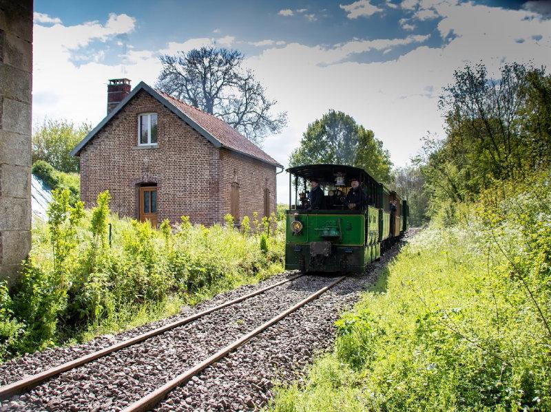 Balade en Train Vapeur