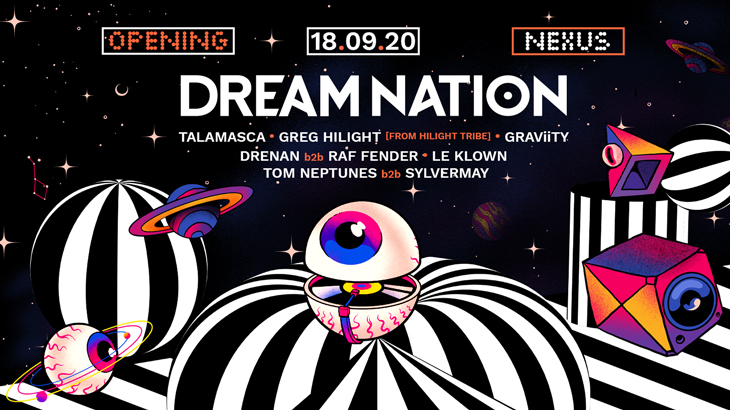 18 Septembre 2020 // OPENING ● DREAM NATION FESTIVAL // PARIS