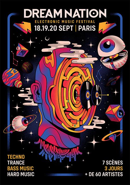 18-19-20 Sept 2020 | DREAM NATION FESTIVAL | PARIS