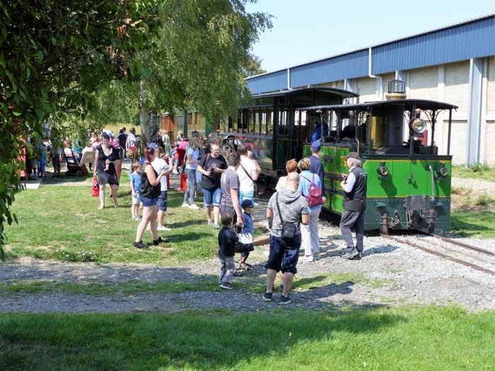 Journées du patrimoine - Balade en Train Vapeur