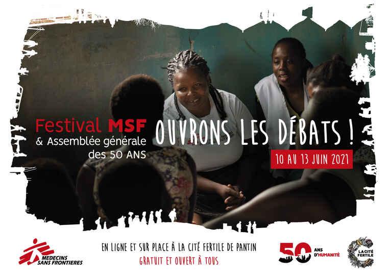Festival MSF: Ouvrons les débats !
