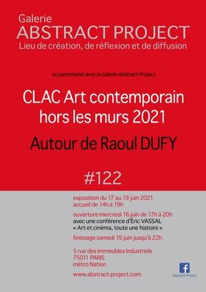 """CLAC Art contemporain hors les murs 2021 """"autour de Raoul Dufy"""""""